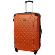 "CLOSEOUT! Sharper Image® Airlock 20"" Expandable Hardside Spinner Upright Luggage"