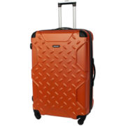 "CLOSEOUT! Sharper Image® Airlock 24"" Expandable Hardside Spinner Upright Luggage"