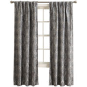 Sun Zero™ Mayfair Room-Darkening Rod-Pocket/Back-Tab Curtain Panel