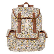 SM New York Floral Print Cargo Backpack