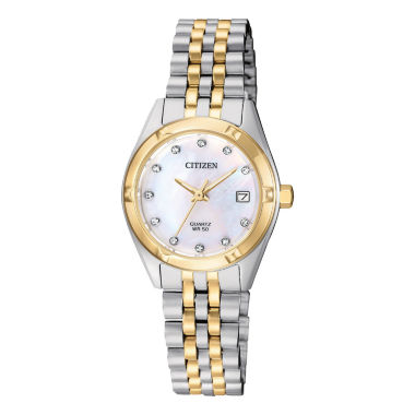 jcpenney.com | Citizen Quartz Womens Two Tone Bracelet Watch-Eu6054-58d