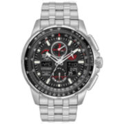 Citizen Mens Silver Tone Strap Watch-Jy8050-51e