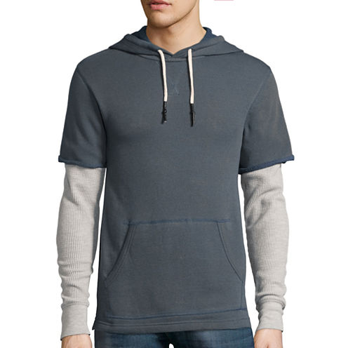 Arizona Long-Sleeve Layered Hoodie