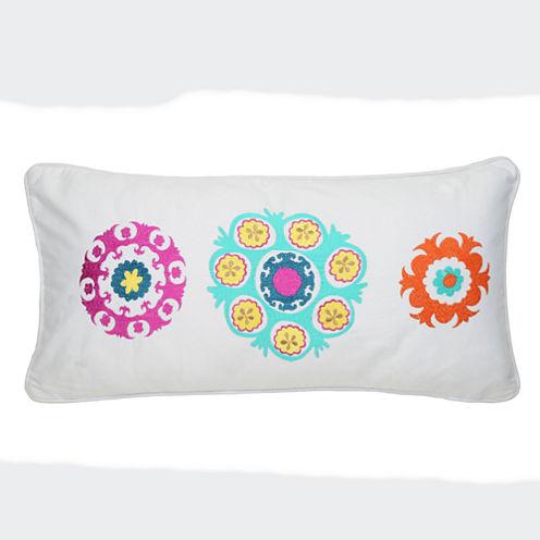 Levtex Petra Oblong Medallion Decorative Pillow