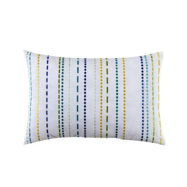 jcpenney.com | Fiesta Lavida Embroidered Stripe Oblong Decorative Pillow