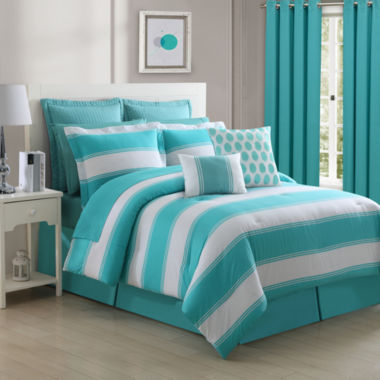 jcpenney.com | Fiesta Cabana Turquoise Reversible Comforter Set