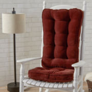Jumbo Hyatt Rocking Chair Cushion Set