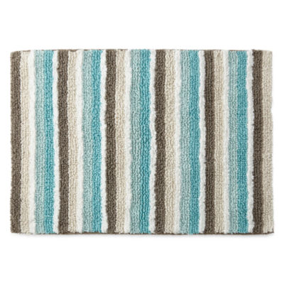 Cotton stripe rug