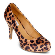 Olsenboye® Belina Leopard Print Pumps
