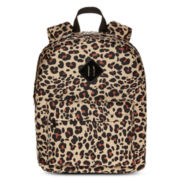 Arizona Stella Leopard Print Backpack
