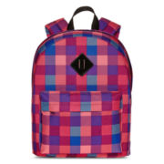 Arizona Stella Plaid Backpack