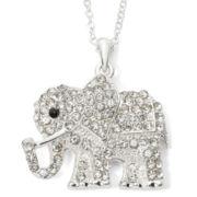 Decree® Silver-Tone Elephant Pendant