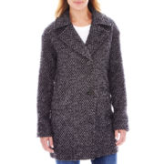 nicole by Nicole Miller® Oversized Wool-Blend Cocoon Coat