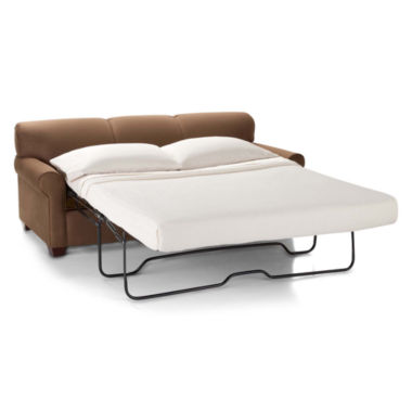 jcpenney.com | Sleeper Possibilities Roll-Arm Queen Sofa