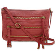 Arizona Triple-Zip Crossbody Bag