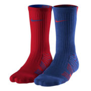 Nike® 2–pk. Football Dri–FIT® Crew Socks–Big & Tall