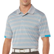 PGA TOUR® Pro Series Heather Striped Polo