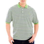 IZOD Short-Sleeve Piqué Oxford Polo-Big & Tall