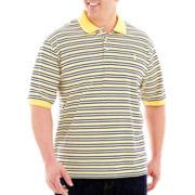 IZOD Short–Sleeve Piqué Oxford Polo–Big & Tall
