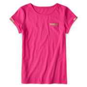 Total Girl® Sequin Pocket Tee - 6-16 Plus