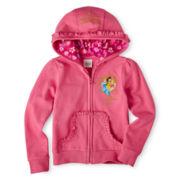 Disney Collection Princess Fleece Jacket - Girls 2-10