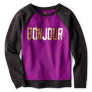 Total Girl® Graphic Sweatshirt - 6-16 and Plus