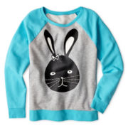 Total Girl® Graphic Sweatshirt - 6-16 and Plus