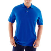 The Foundry Supply Co.™ Solid Piqué Polo-Big & Tall