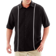 The Havanera Co.® Short-Sleeve Woven Shirt–Big & Tall