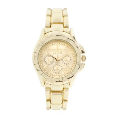 jcpenney.com | Decree® Womens Multifunction-Look Gold-tone Bracelet Watch