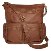 Arizona Front Double-Pocket Crossbody Tote