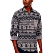 Arizona Long-Sleeve Printed Poplin Shirt