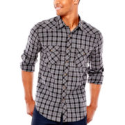 Arizona Long-Sleeve Western Poplin Shirt