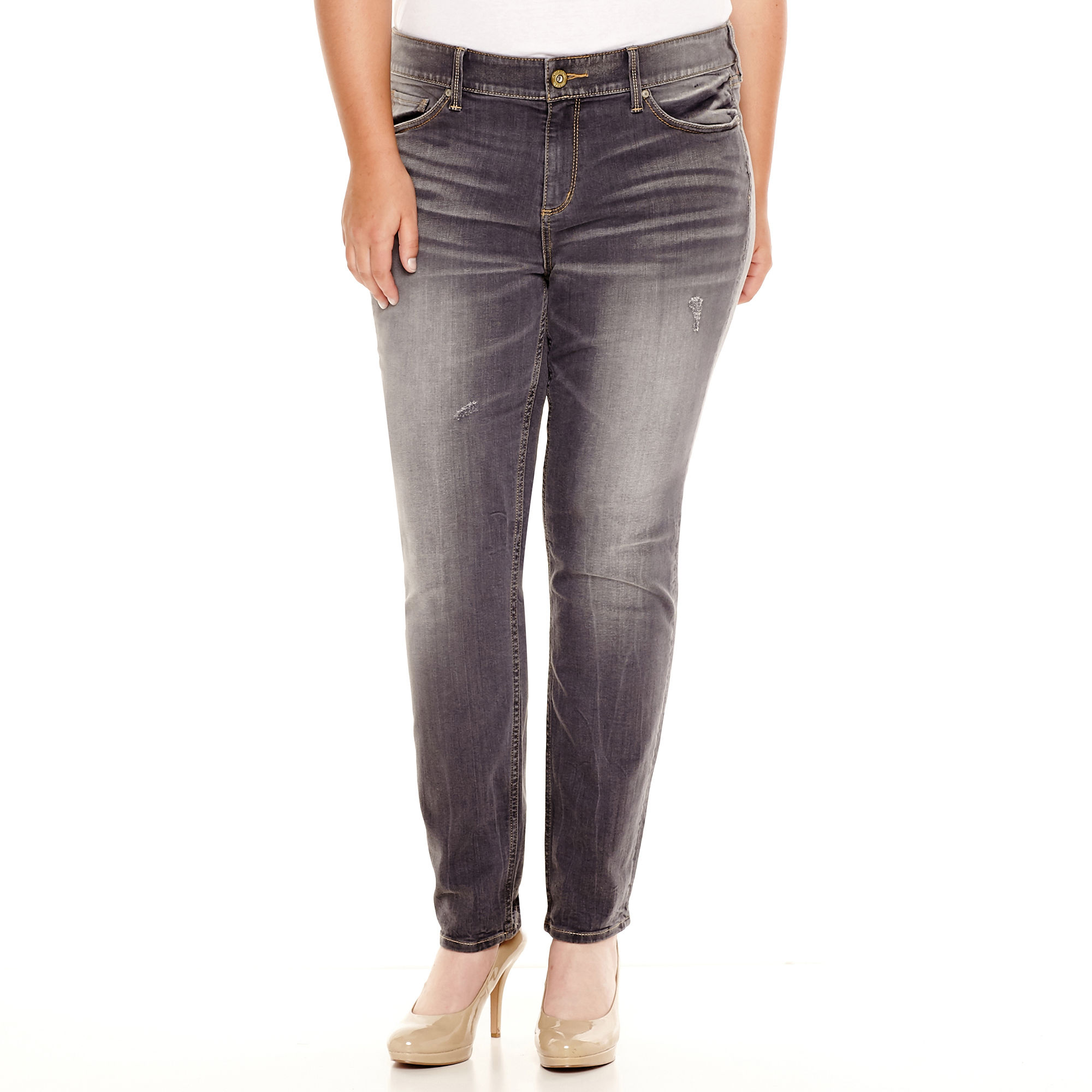 Arizona Super Skinny Jeans - Juniors Plus