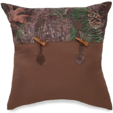 "jcpenney.com | True Timber Mixed Pine 18"" Square Decorative Pillow"