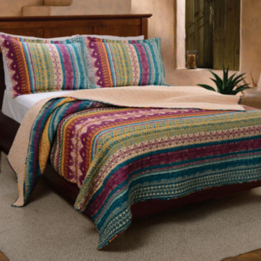 jcpenney.com | Greenland Home Fashions Southwest Quilt Set