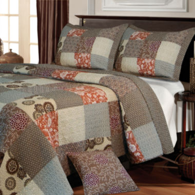 jcpenney.com | Greenland Home Fashions Stella Patchwork Quilt Set