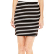 a.n.a® Pull-On Ponte Knit Skirt - Petite