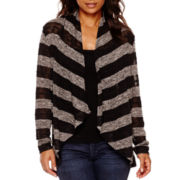 a.n.a® Long-Sleeve Textured Knit Cardigan - Tall