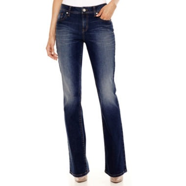 jcpenney.com | a.n.a® Thickstitch Bootcut Jeans