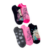 Disney Frozen 5-pk. No-Show Socks