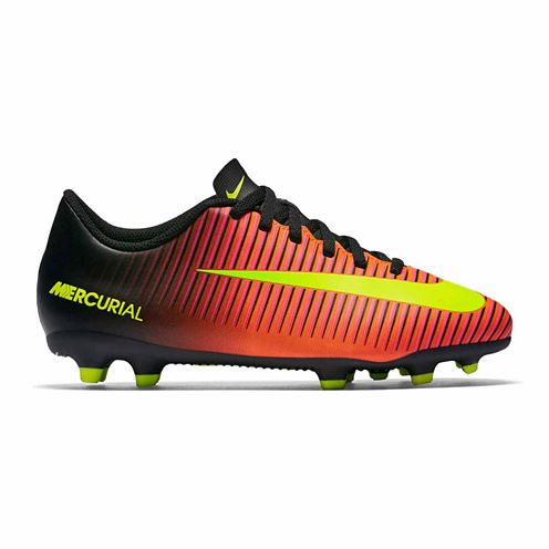 Nike® Jr Mercurial Vortex III FG Soccer Cleats - Little Kids/Big Kids
