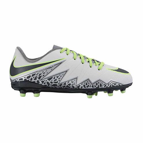 Nike® Jr Hypervenom Phelon II FG Soccer Cleats - Little Kids