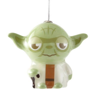 jcpenney.com | Star Wars Yoda Decoupage Ornament