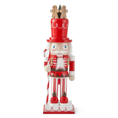 "jcpenney.com | North Pole Trading Co. 10"" Sweets Nutcracker"