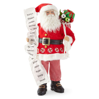 "jcpenney.com | North Pole Trading Co. 18"" Candy Santa"
