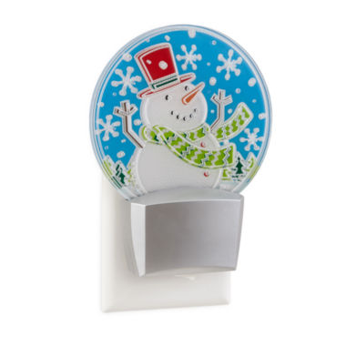 jcpenney.com | North Pole Trading Co. Blinking Snowman Nightlight