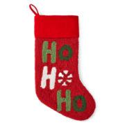 North Pole Trading Co. HoHoHo Stocking