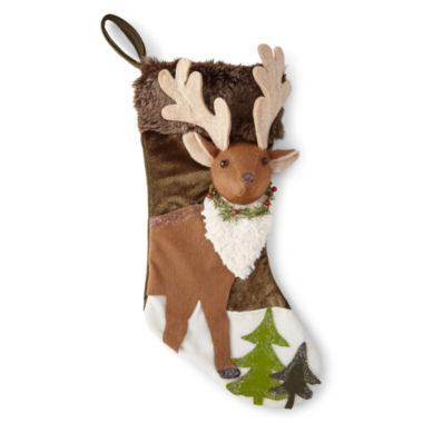 jcpenney.com | North Pole Trading Co. Reindeer Stocking