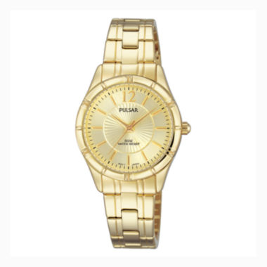 jcpenney.com | Pulsar® Ladies Easy Style Collection Gold-Tone Watch PH8258